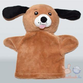 Barna kutya kesztyűbáb (Funtastic Puppet)