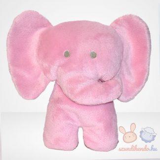 M&S rózsaszín plüss elefánt (Marks and Spencer)