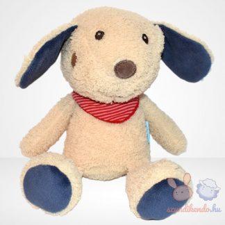 Babydream piros kendős plüss kutya