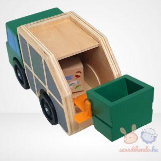 Melissa & Doug fa kukásautó játék jármű
