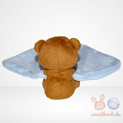 F&F barna macis kék szundikendő hátulról