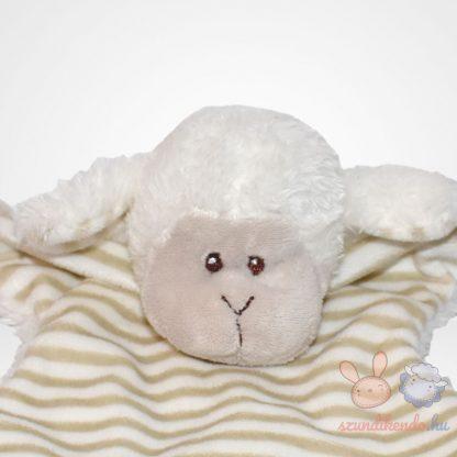 Ergee csíkos hasú bárány szundikendő közelről
