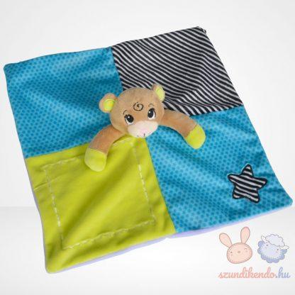 ABC maci szundikendő, csörgős (Simba Toys)