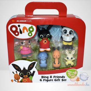 Bing és barátai 6db-os figura szett (műanyag)