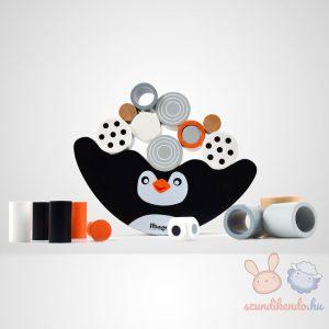 Magni pingvin egyensúlyozó fejlesztő fajáték