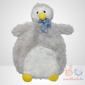 Ergee sárga csőrű pingvin szundikendő kék-fehér kockás nyakkendővel