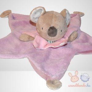 Beauty Baby rózsaszín ruhás koala szundikendő - Deluxe, közelről